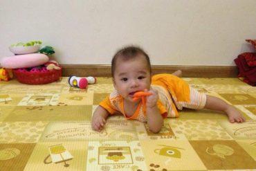 Mách bạn cách chọn thảm trải sàn an toàn cho bé