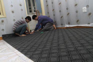 Sàn nhà cần khô ráo